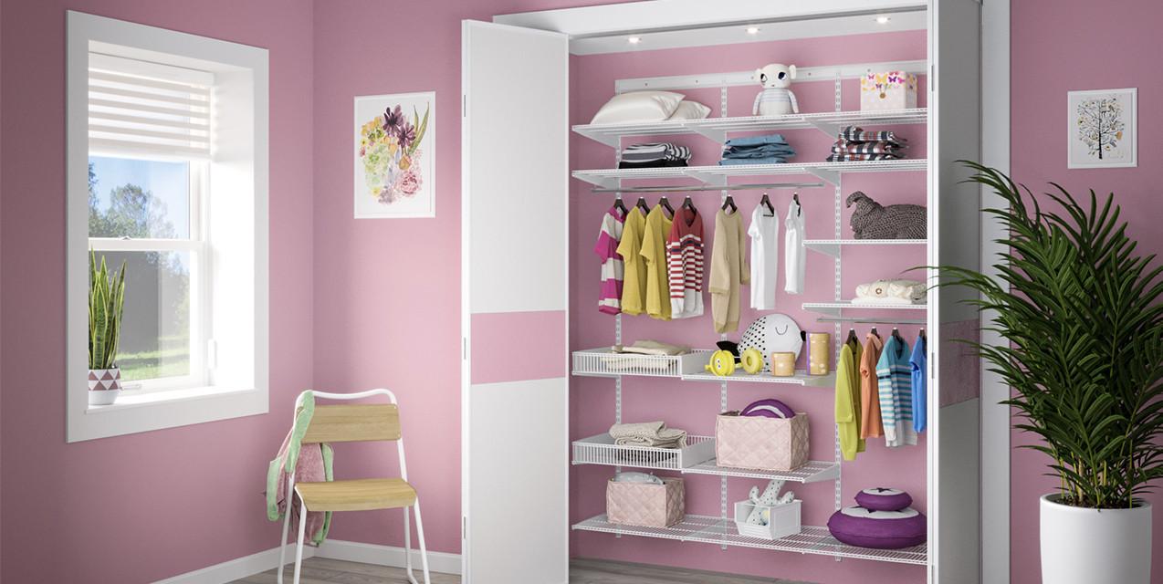 Компактний дитячий гардероб
