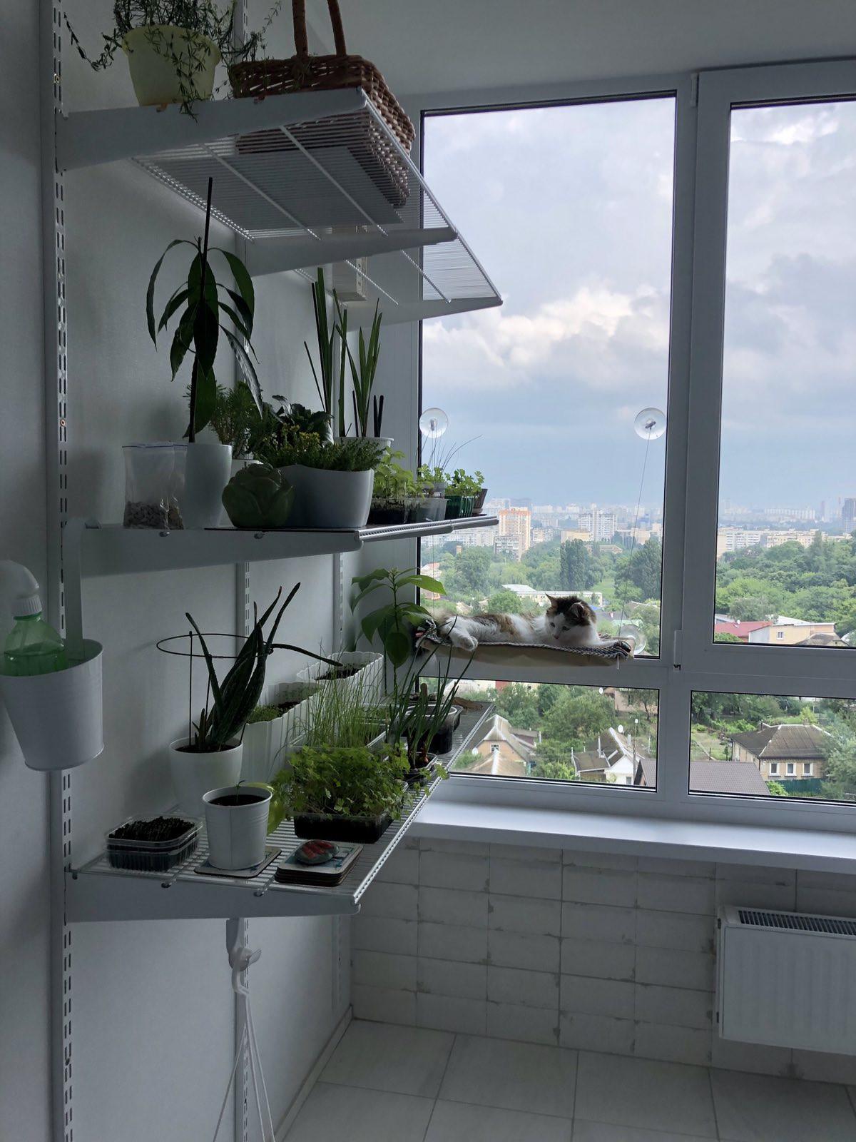 Система зберігання для балкона