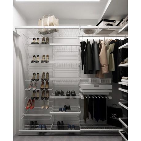 Стильная гардеробная от дизайнера