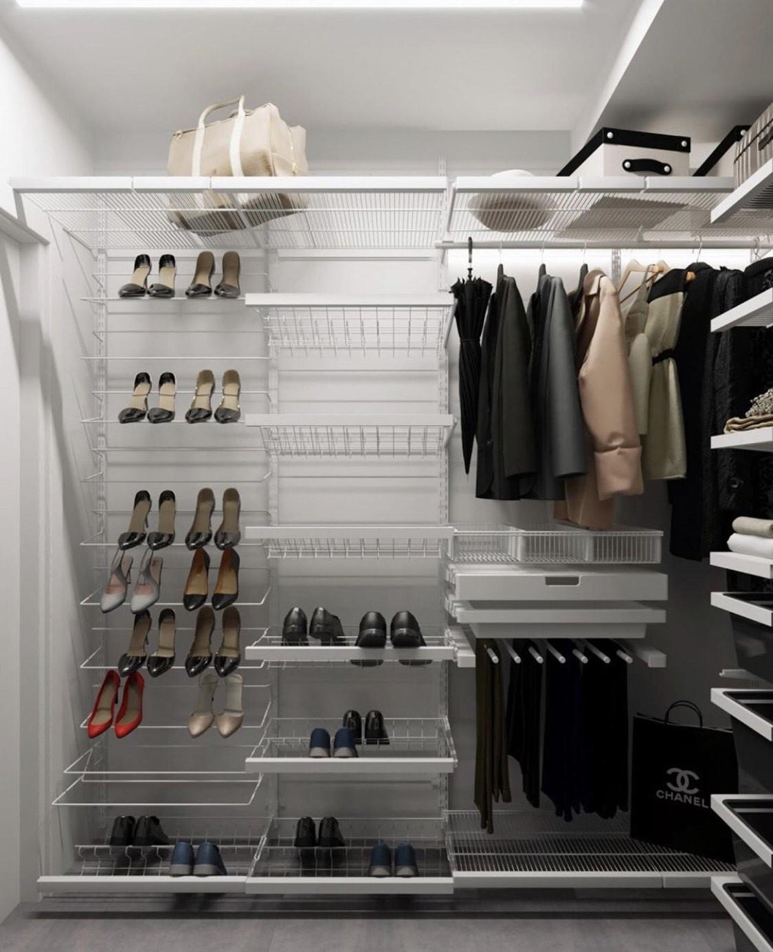 Стильна гардеробна від дизайнера